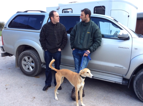 Phil with owner Shaun Beach