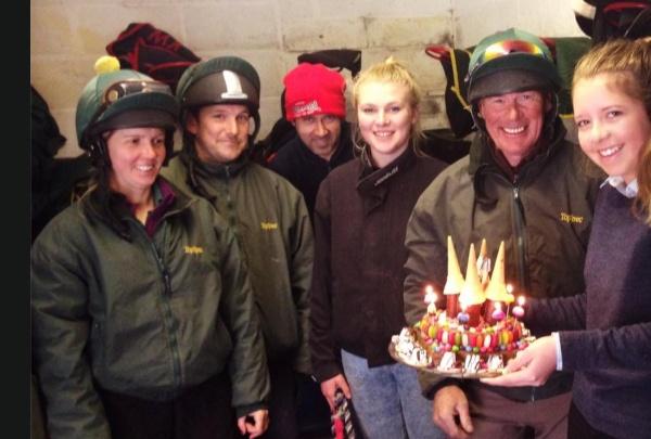 Steve Kettlewell's fantastic Birthday cake made by Megan