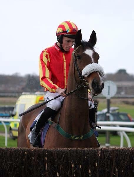 Photo by Mick Atkins - James Reveley on our Wetherby winner, Courtown Oscar