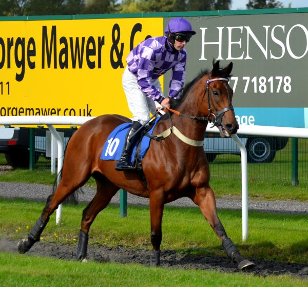 The same Goldan Jess a few days later winning at Market Rasen  - a brilliant horse for us and the winner of tons of races.