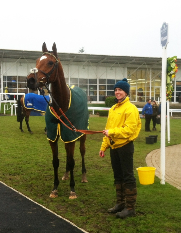 UP the Bees at Wetherby when he won his debut bumper - a race that has worked out well