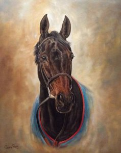 Sprinter Sacre, very large 20 x 24 Giclee print