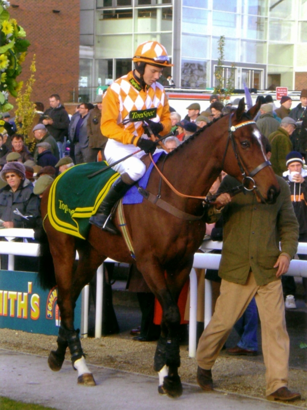 Aglestone Rock and James Revely - the Wenslydale hurdle at Wetherby