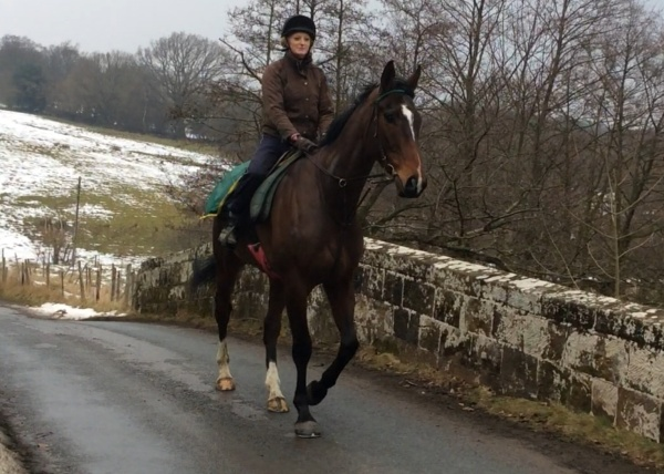 Stenna hacking out with Charlotte