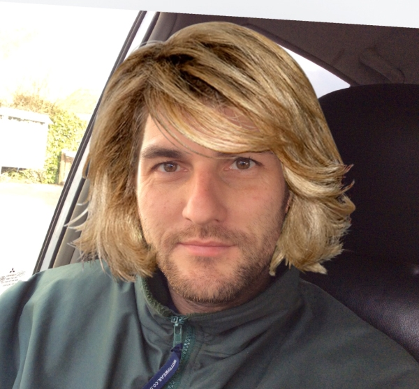 The boss going for a new look?
