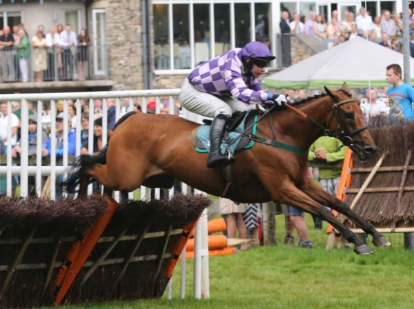 Can he do it agan? Goldan Jess and Kyle James are out to win Cartmel's Crystal Cup for the second successive year....