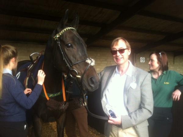 Factor Fifty with Stephen Wootten, one of his Owners