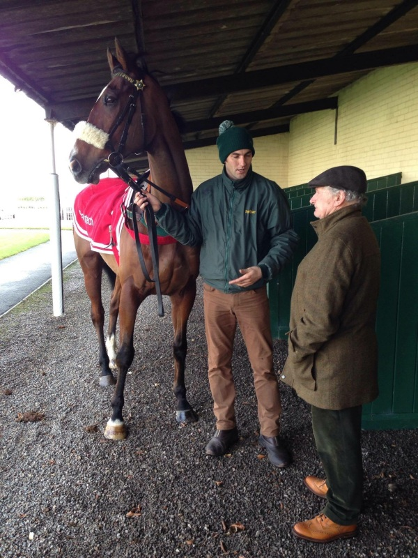 Phil with one of Courtown's  Owners, Bernard Dolan