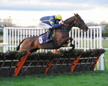 Bruce wins in the mud at Wetherby in November