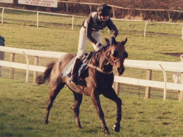 Phils first ride - a winner! The Tollah, for Ferdy Murphy at Sedgefield in 1999