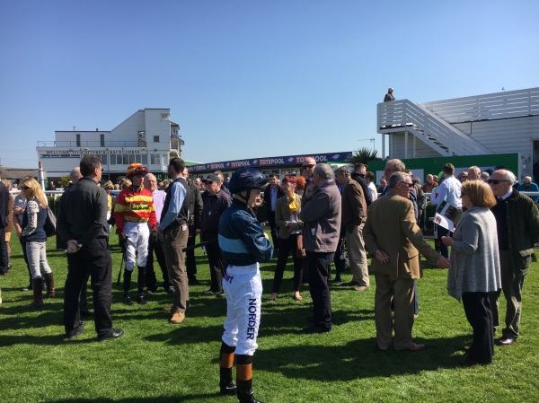 Our Owners in the 2.55 with Eddie and Whitchurch