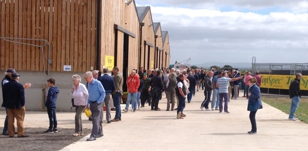 Big crowds at our first Green Oaks Open Day