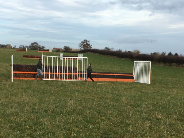 Simon and phil were busy with the jumps today