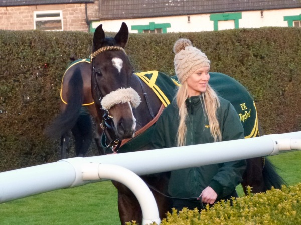 Stacey with Northern Girl - photo by Mike Dunn