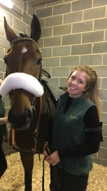 Meg with Nautical Nitwit at Wetherby