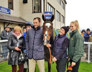 Little Bruce in the Winners Enclosure