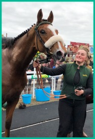 Wemyss in the winners enclosure with Katie in top spot