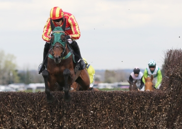 Top Ville Ben in action on Friday at Aintree