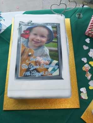 Jack Christening cake