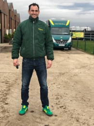 Phil taking TopSpec green & yellow to a whole new level....😁