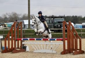 Izzy & her amazing pony 'Piper'