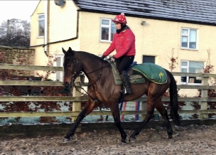 New Team Member, Megan Beswick who has fitted straight in and is a lovely quiet rider.